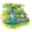 База отдыха Лукоморье - иконка «сад» в Горячегорске